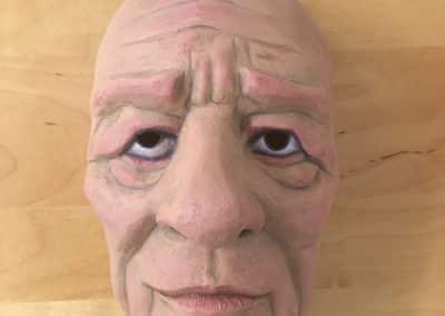 Maske fremstillet i Worbla