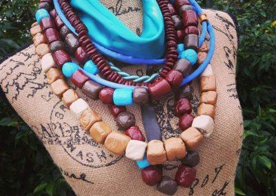 halskæde lavet i worbla